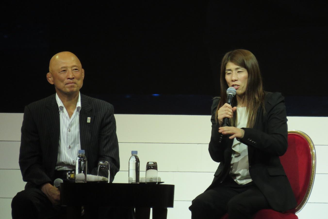 栄監督と吉田選手 トークショー